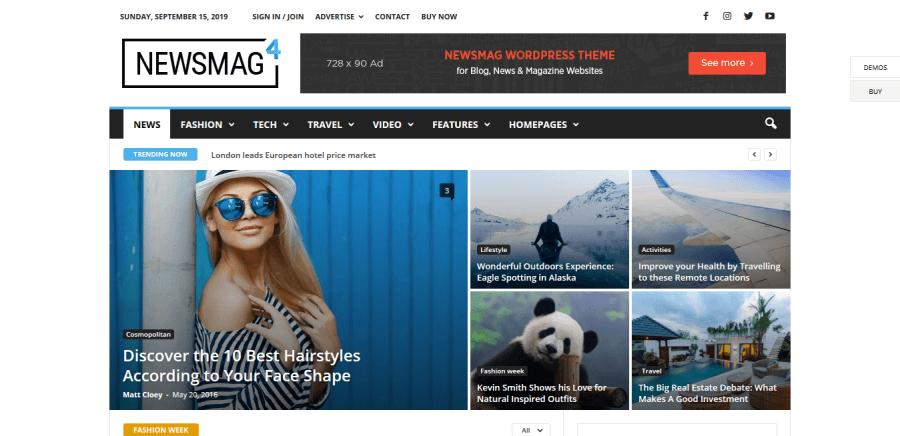 theme newsmag pro