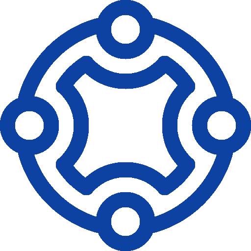 Logo kết nối đam mê