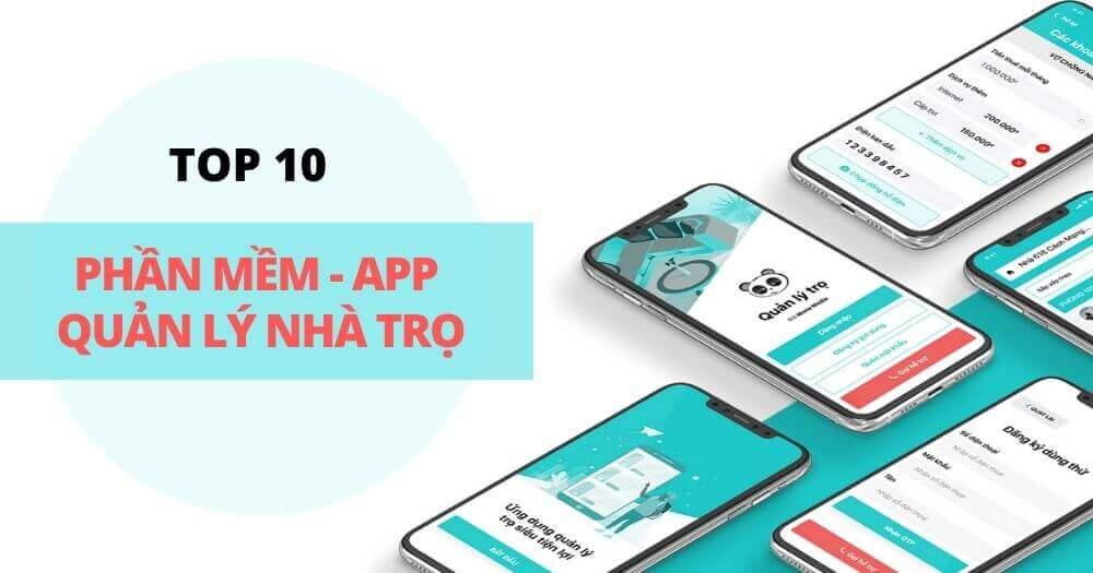 top 10 app quan ly nha tro tot nhat