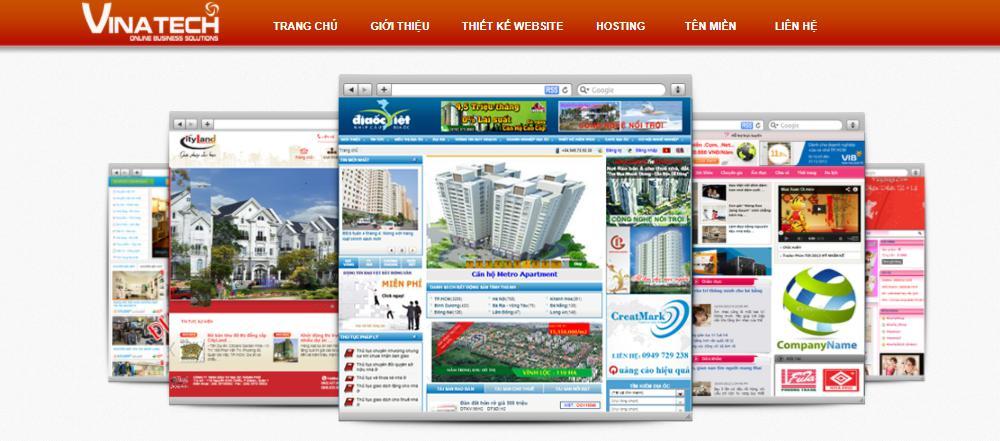 Công ty thiết kế web uy tín Vinalink
