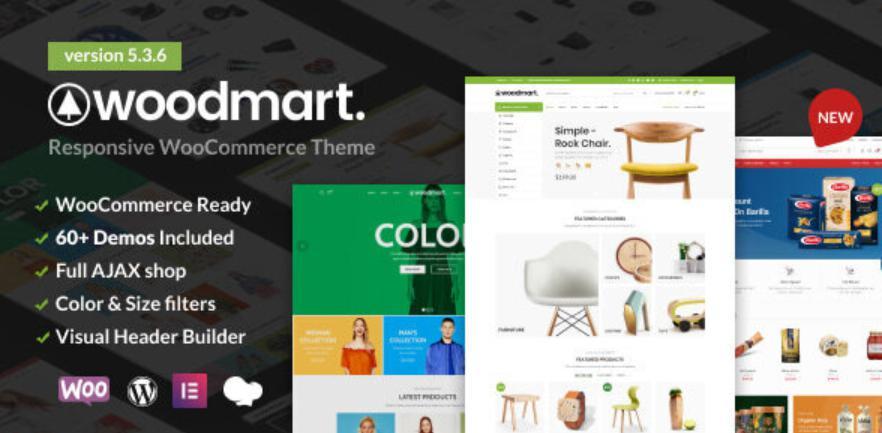 Theme bán hàng wordpress Woodmart